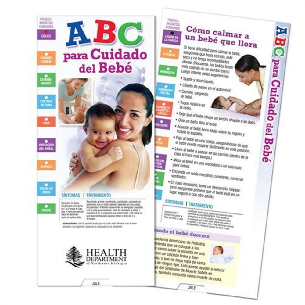 ABCs Of Baby Care Spanish Language Slideguide - Personalization Available