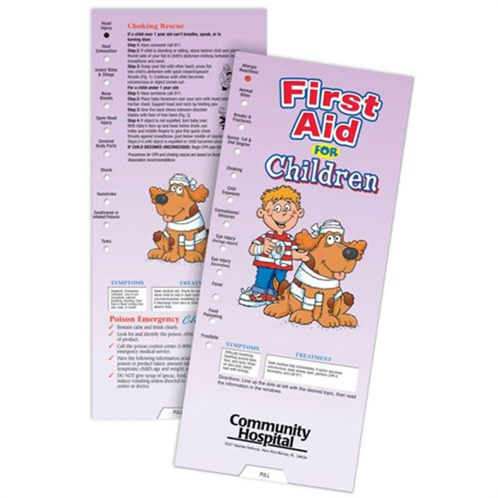 First Aid For Children Slideguide - Personalization Available