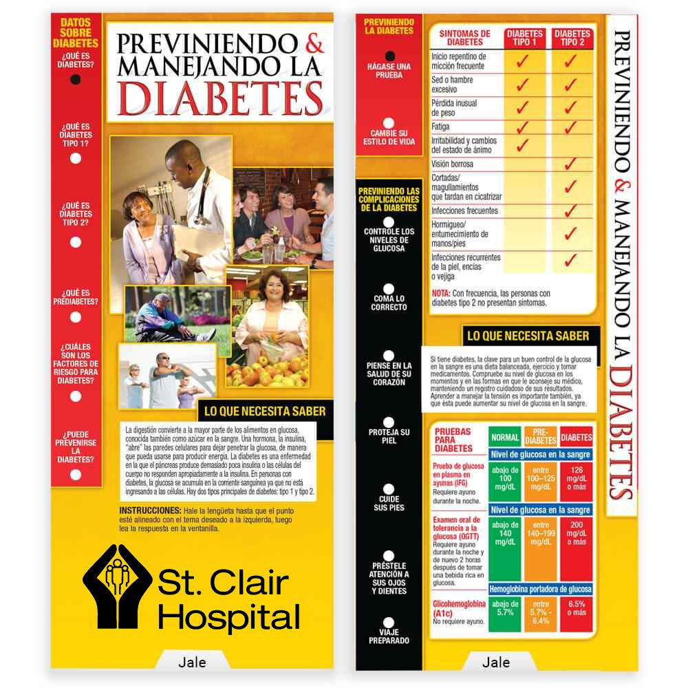 Preventing & Managing Diabetes Spanish Language Slideguide - Personalization Available