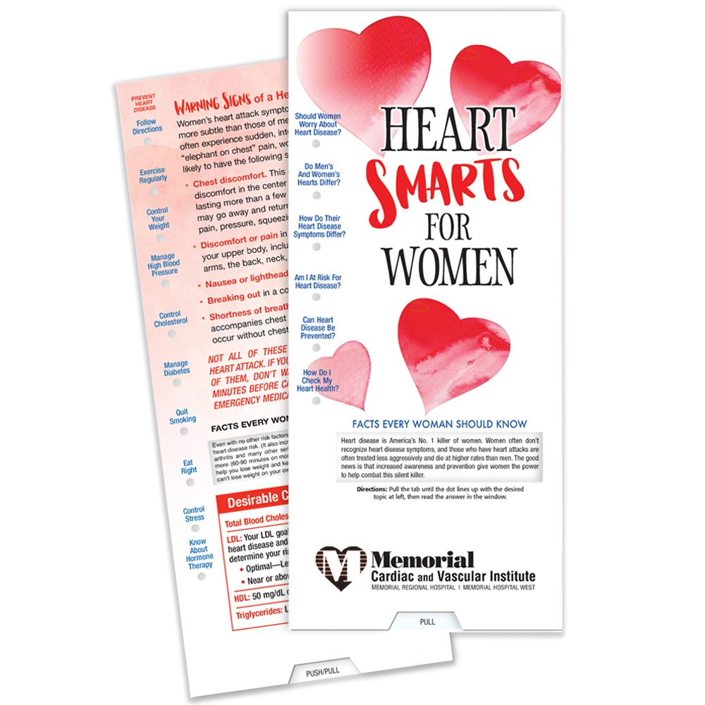Heart Smarts For Women Slideguide - Personalization Available