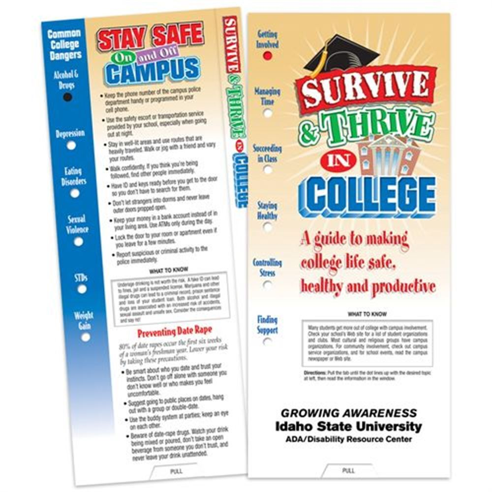 Survive & Thrive In College Slideguide - Personalization Available