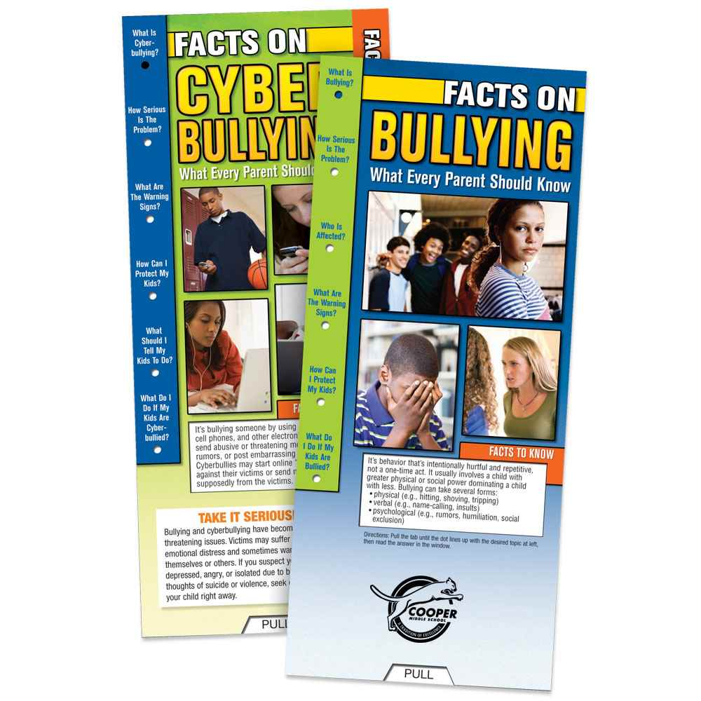 Facts On Bullying & Cyberbullying: What Every Parent Should Know Slideguide - Personalization Available