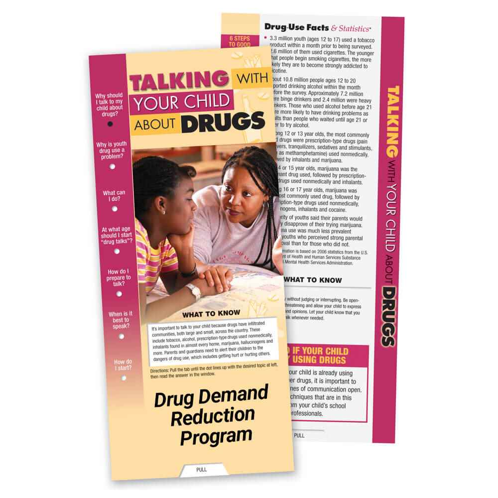 Talking With Your Child About Drugs Slideguide - Personalization Available