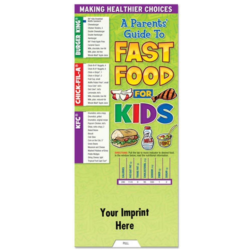 A Parents' Guide To Fast Food For Kids Slideguide - Personalization Available