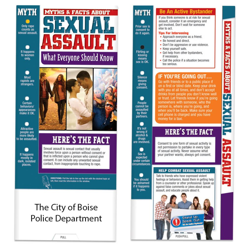 Myths & Facts About Sexual Assault Slideguide - Personalization Available