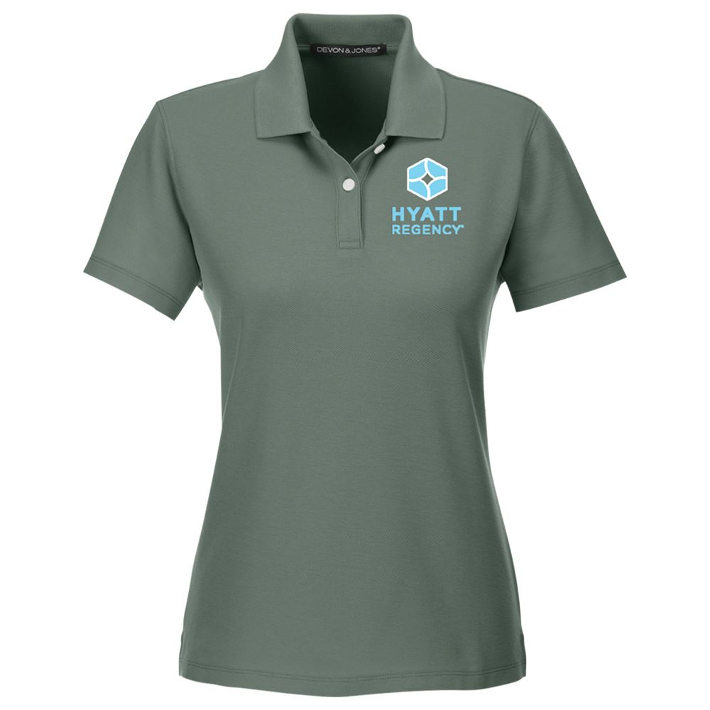 Devon & Jones® Women's Drytec20™ Performance Polo - Personalization Available
