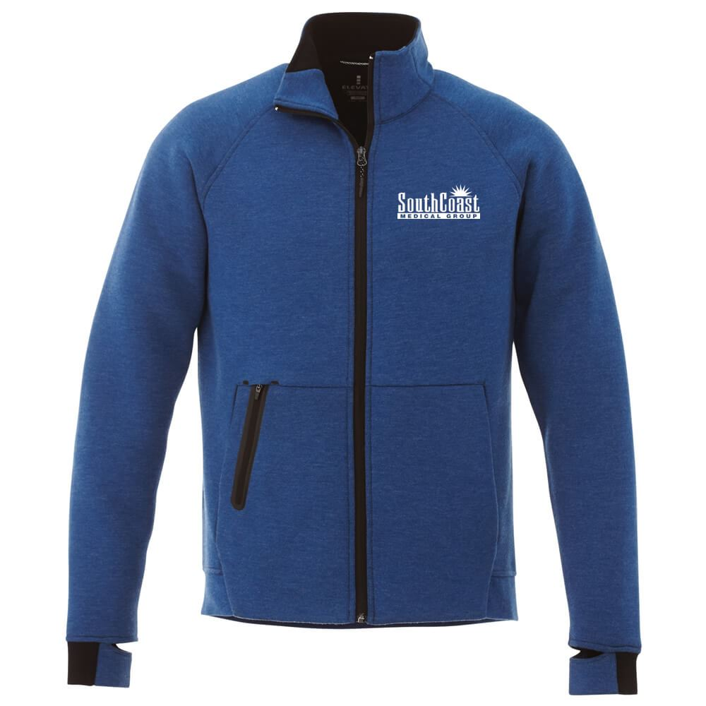 Elevate® Men's Kariba Knit Jacket - Embroidery Personalization Available