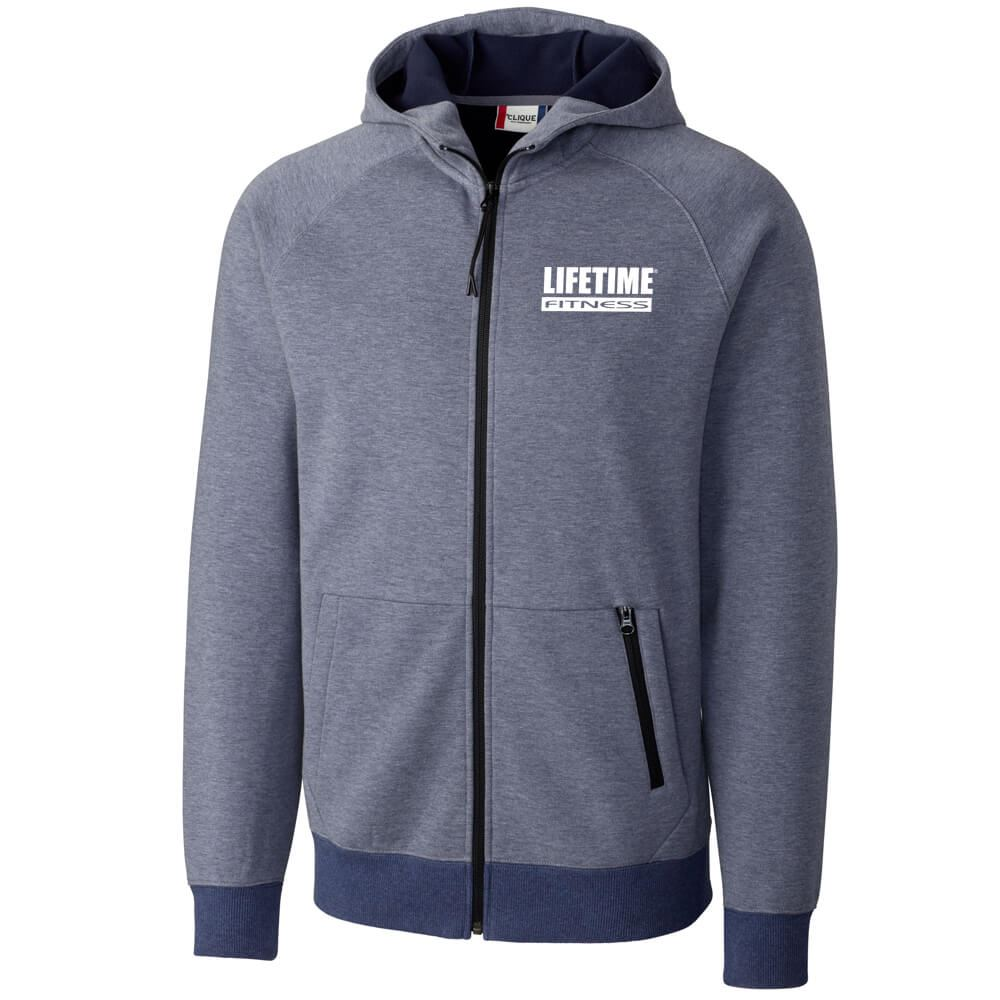 Clique® Men's Lund Fleece Zip Hoodie - Embroidery Personalization Available