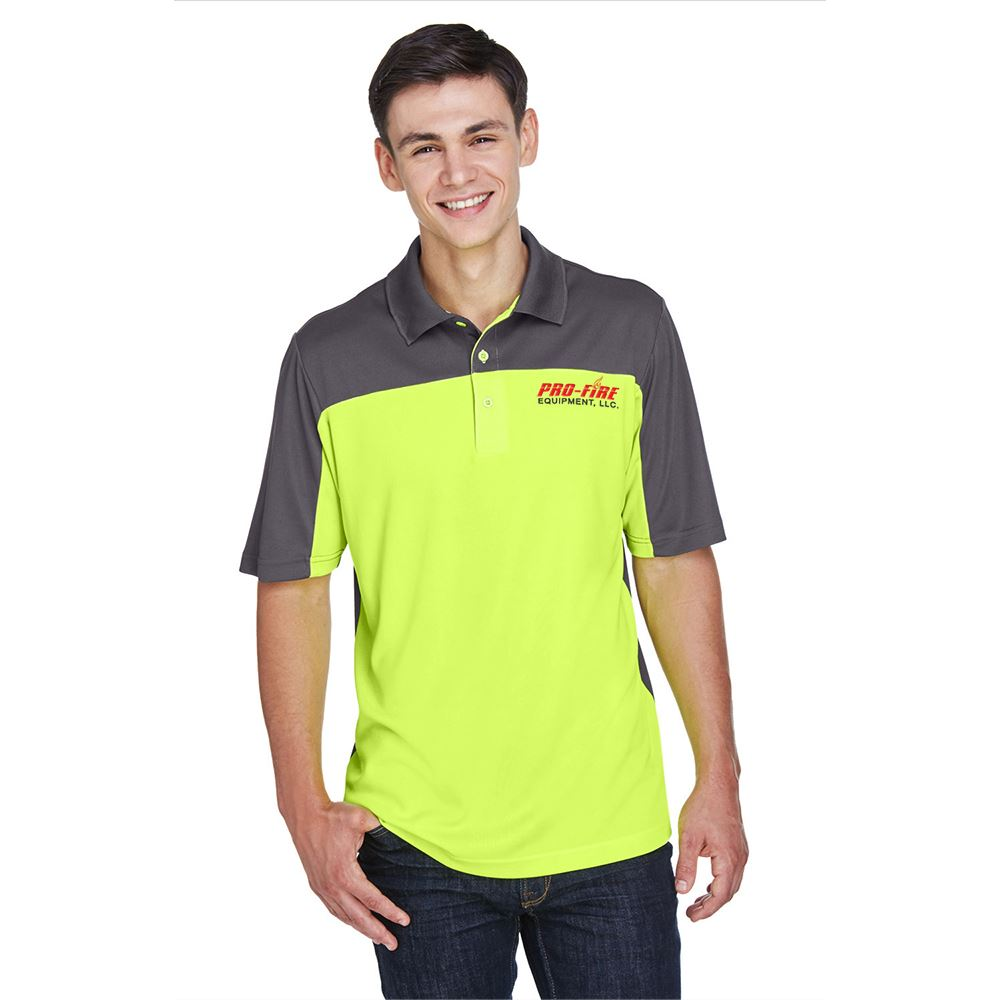 Core 365™ Men's Balance Colorblock Performance Pique Polo - Personalization Available