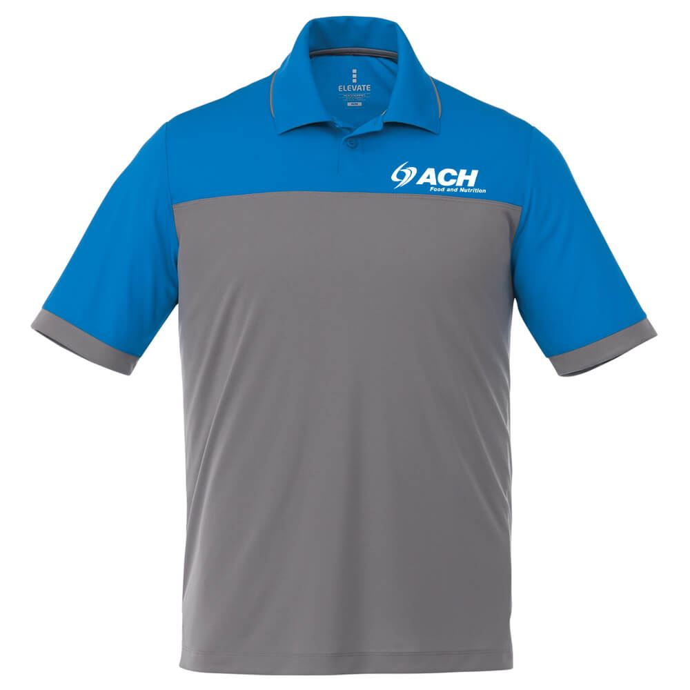 Elevate® Men's Mack Short Sleeve Polo - Embroidery Personalization Available