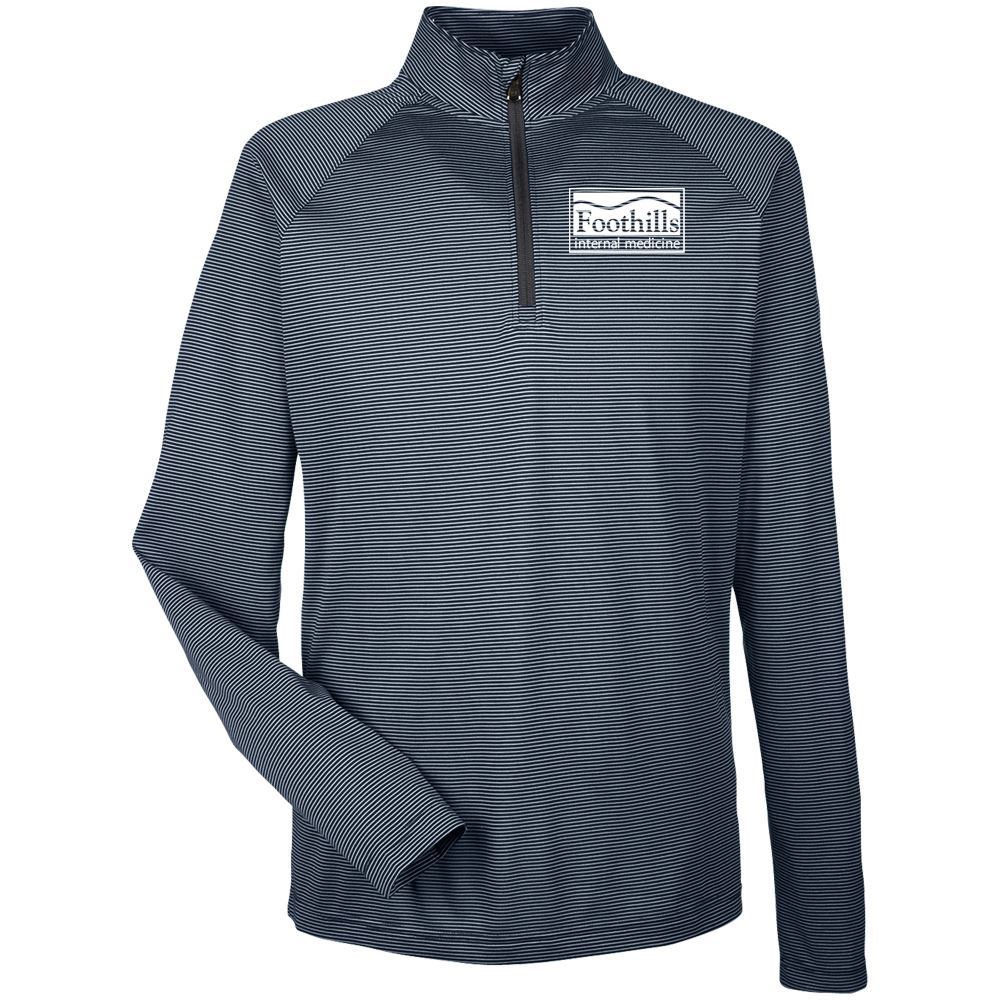 Under Armour® Men's Tech Stripe Quarter-Zip - Embroidered Personalization Available