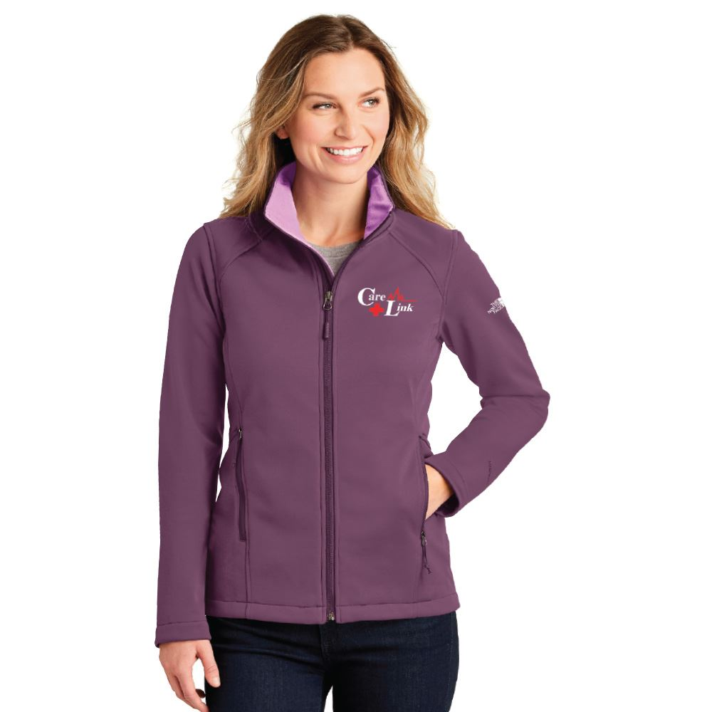 The North Face® Women's Ridgewall Soft Shell Jacket - Embroidered Personalization Available