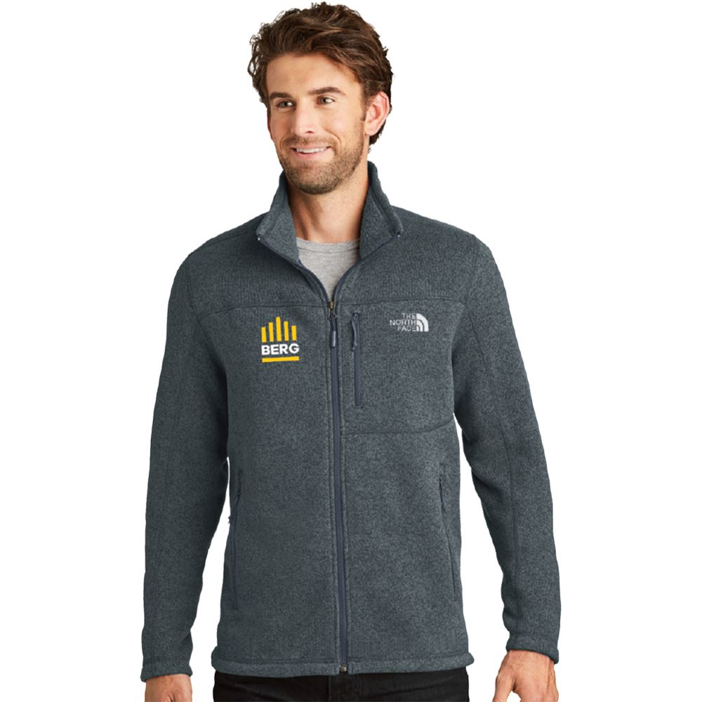 The North Face� Men's Sweater Fleece Jacket - Personalization Available