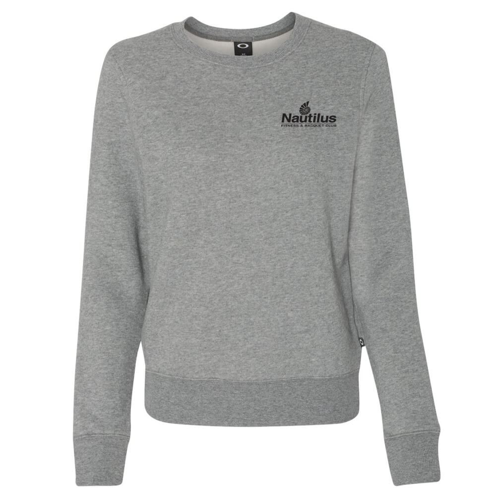 Oakley Cotton Blend Women's Crewneck Sweatshirt Personalization Available