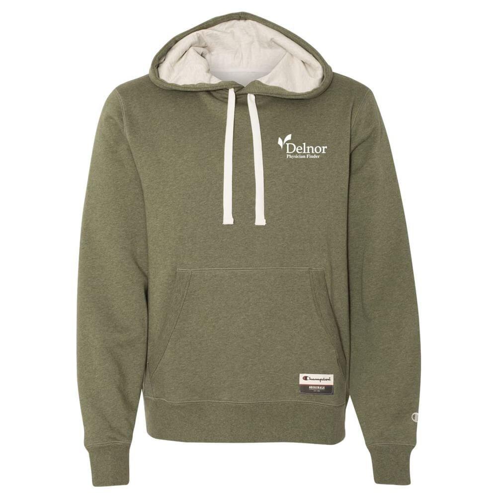 Champion® Originals Sueded Fleece Pullover Hood Sweatshirt - Personalization Available