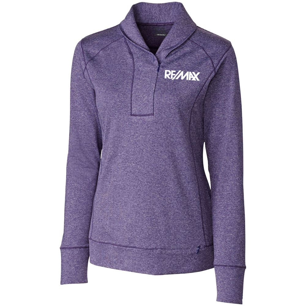 Cutter & Buck® Women's Shoreline Half-Zip - Personalization Available