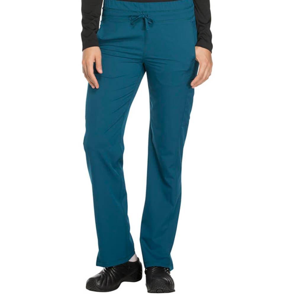 Dickies® Women's 3-Pocket Dynamix Mid Rise Drawstring Scrubs Pants