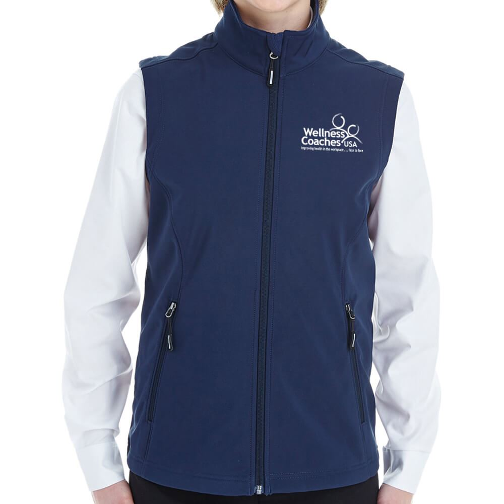 Ash City Core 365® Ladies' Cruise Two-Layer Fleece Bonded Soft-Shell Vest - Personalization Available