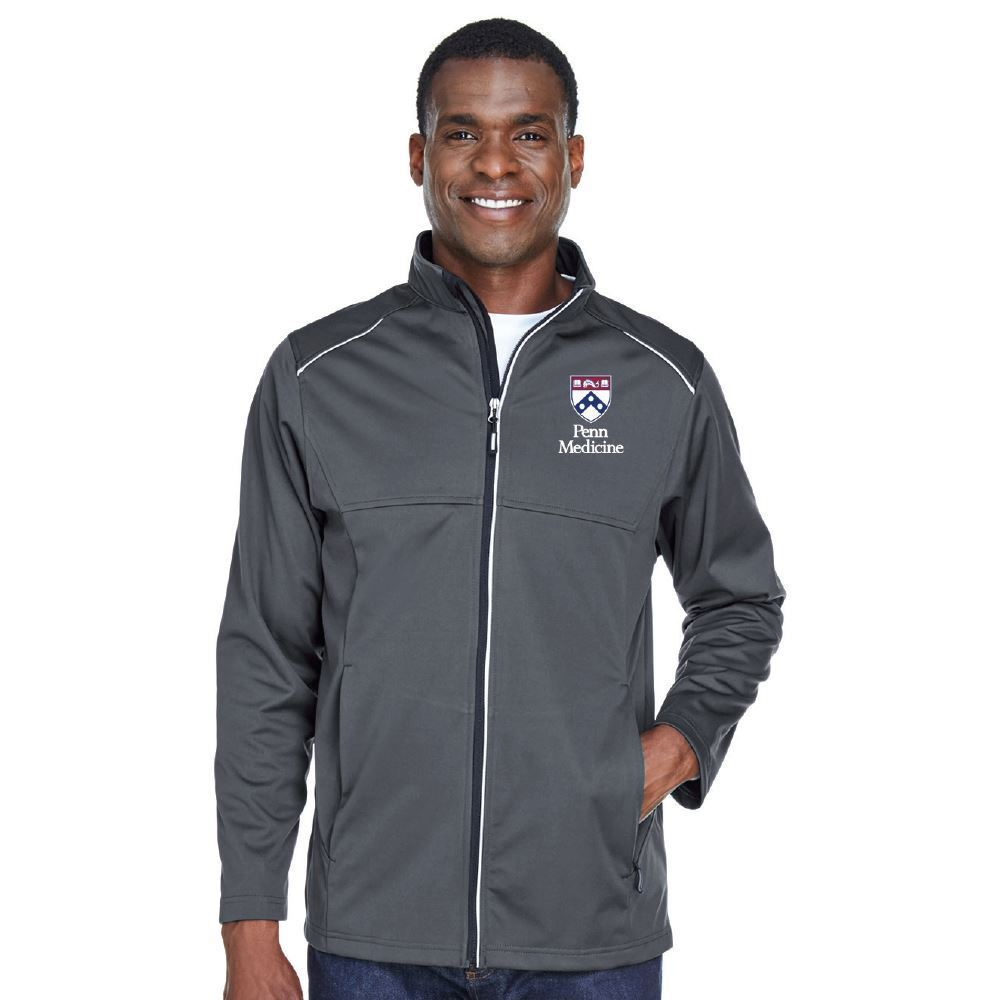 Core 365® Men's Techno Lite Three-Layer Knit Tech-Shell Jacket - Embroidered Personalization Available