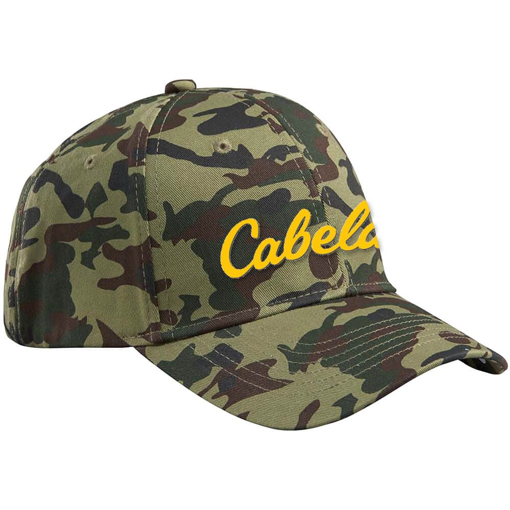 Big Accessories® Structured Camo Cap - Personalization Available