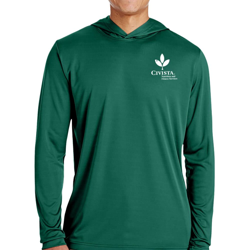Team 365® Men's Zone Performance Hoodie - Silkscreen Personalization Available