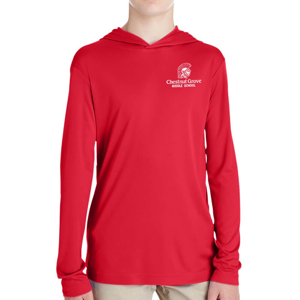 Team 365® Youth Zone Performance Hoodie - Silkscreen Personalization Available