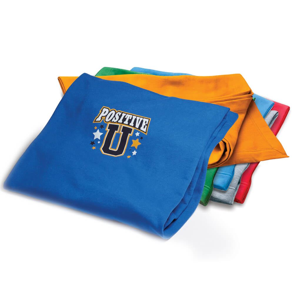Gildan Dryblend® 9-Oz. Fleece Stadium Blanket - Personalization Available