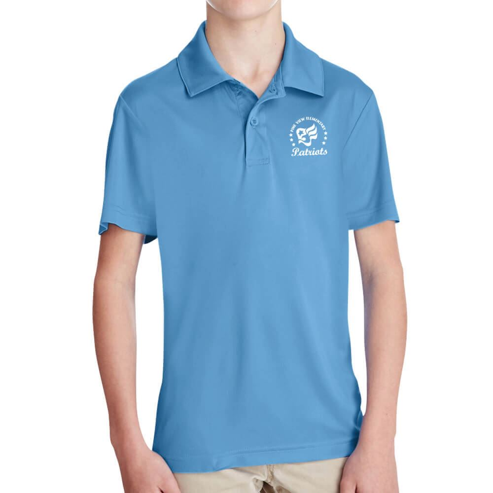 Team 365® Youth Zone Performance Polo - Embroidery Personalization Available