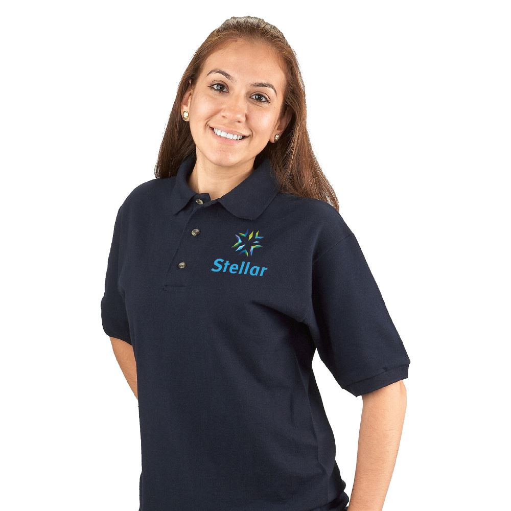 Gildan® DryBlend® 50/50 Jersey Polo: Best Selling Colors - Embroidered Personalization Available