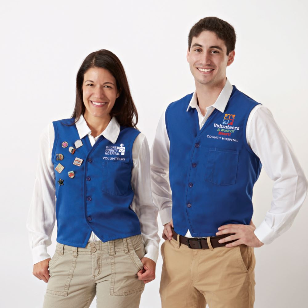 Augusta® Vest With Waist Pockets - Personalization Available