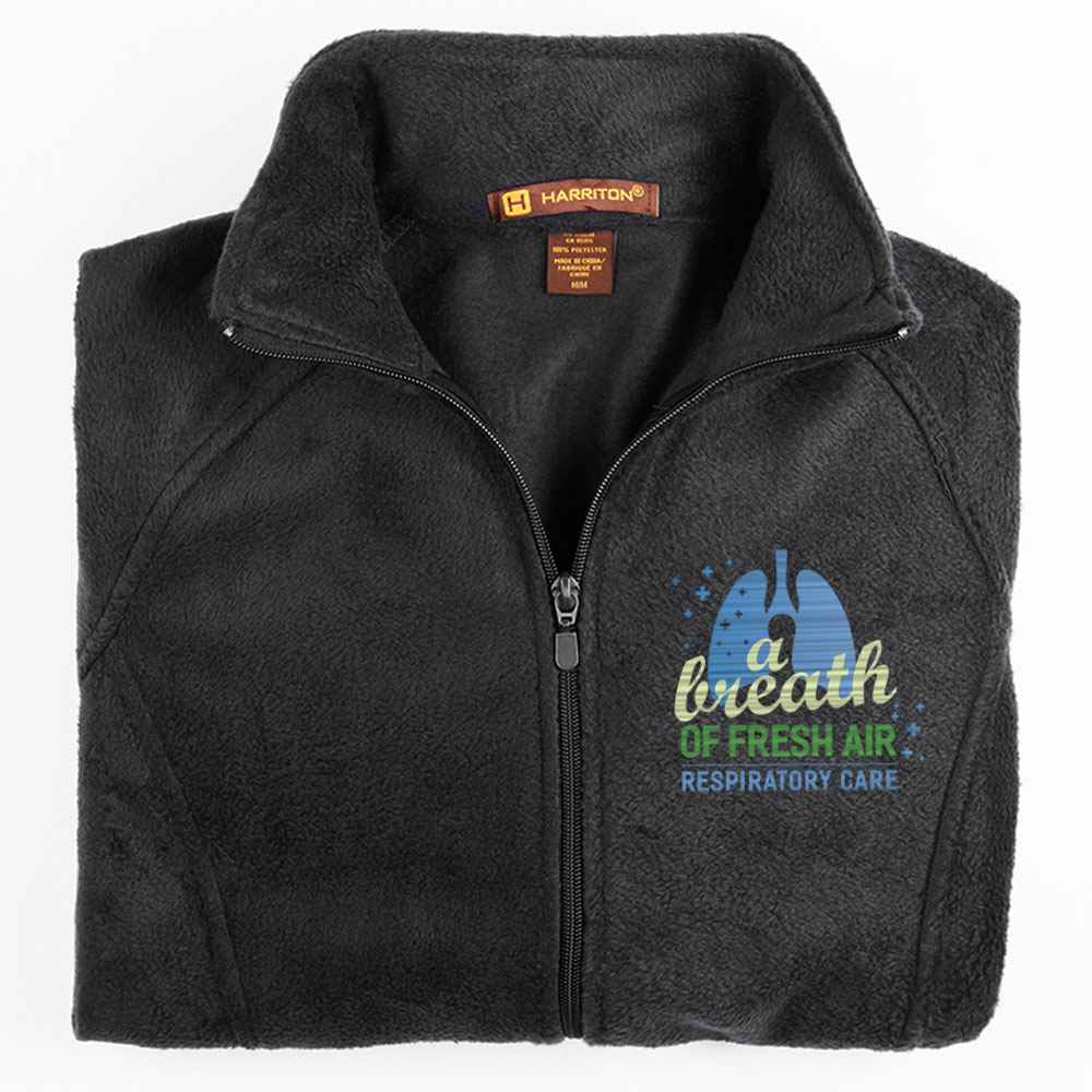 Respiratory Care: A Breath Of Fresh Air Harriton® Women's Full-Zip Fleece Jacket - Personalization Available