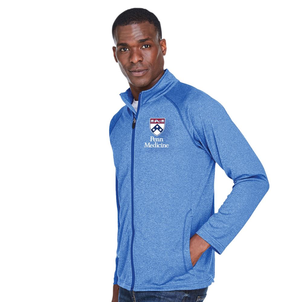 Devon & Jones® Men's Stretch Tech-Shell Compass Full-Zip - Personalization Available
