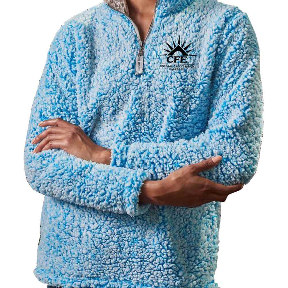 J. America® Women's Epic Sherpa Quarter-Zip - Personalization Available