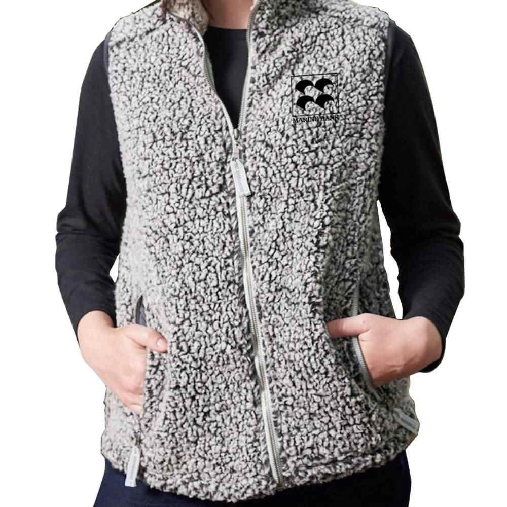 J. America® Women's Epic Sherpa Vest - Personalization Available