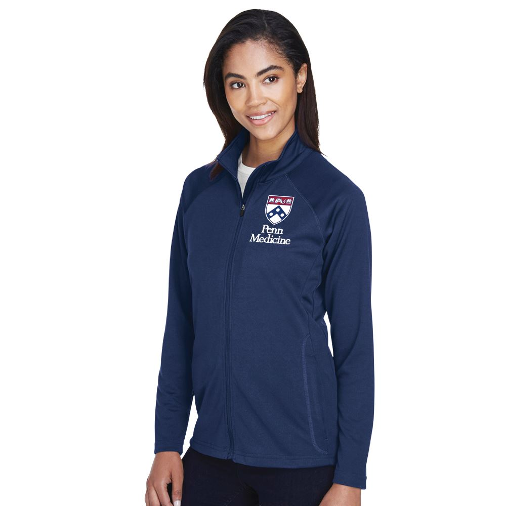 Devon & Jones® Women's Stretch Tech-Shell Compass Full-Zip Jacket - Embroidered Personalization Available