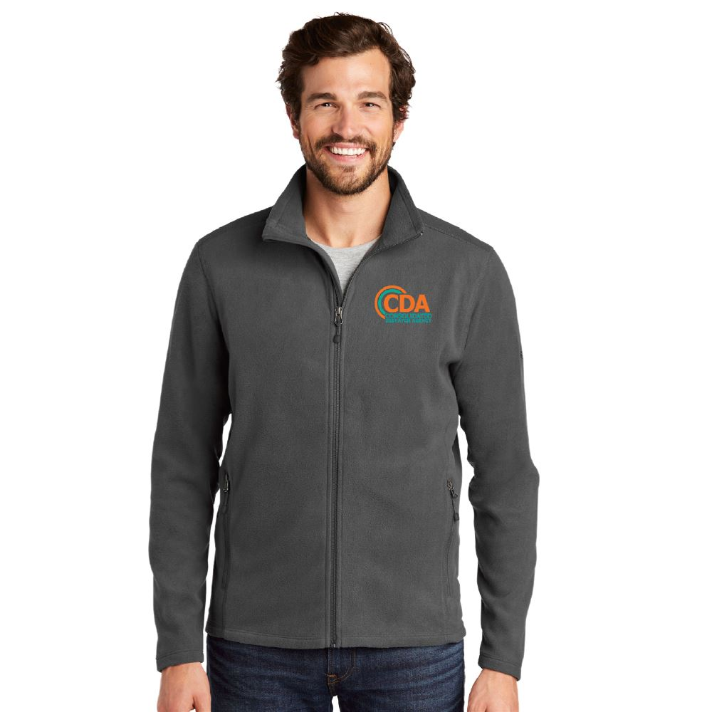 Eddie Bauer® Men's Full-Zip Microfleece Jacket - Embroidery Personalization Available