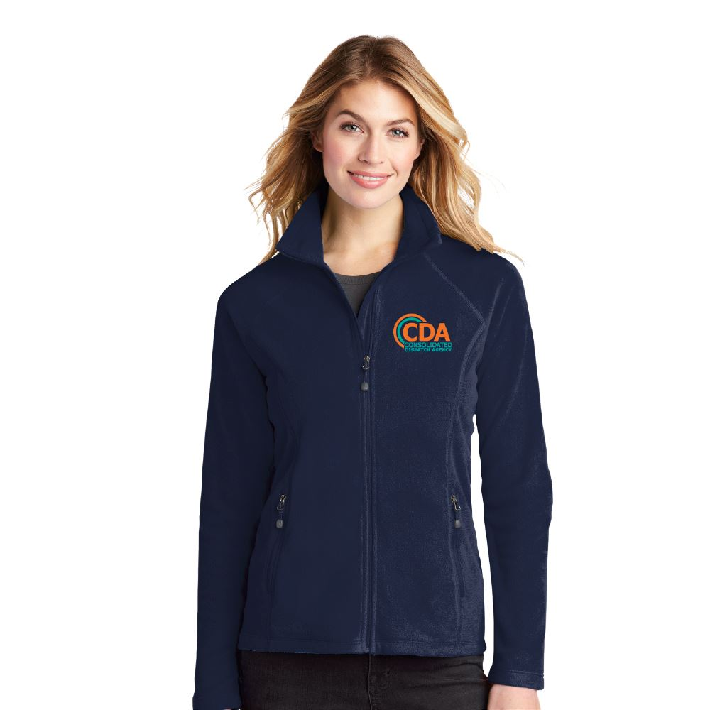 Eddie Bauer® Women's Full-Zip Microfleece Jacket -Embroidery Personalization Available