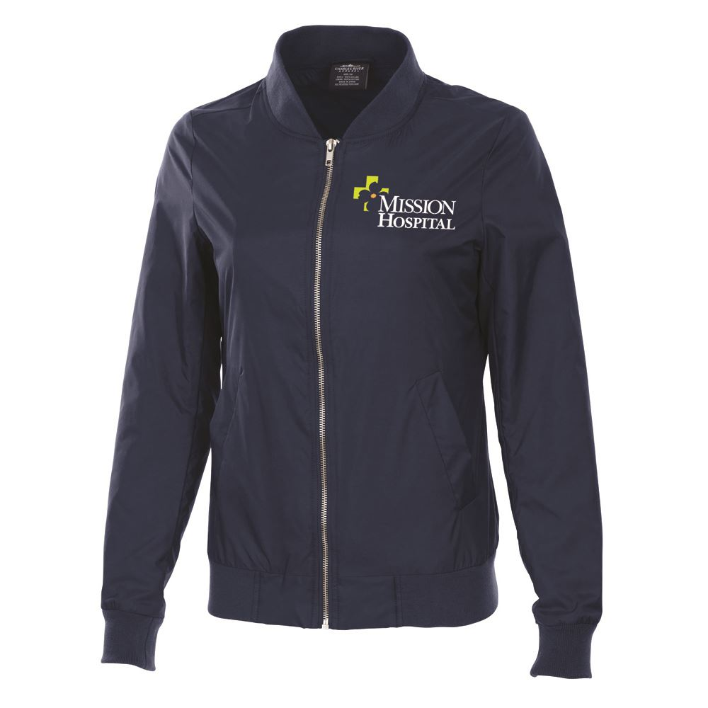 Charles River Apparel® Women's Boston Flight Bomber Jacket- Embroidery Personalization Available