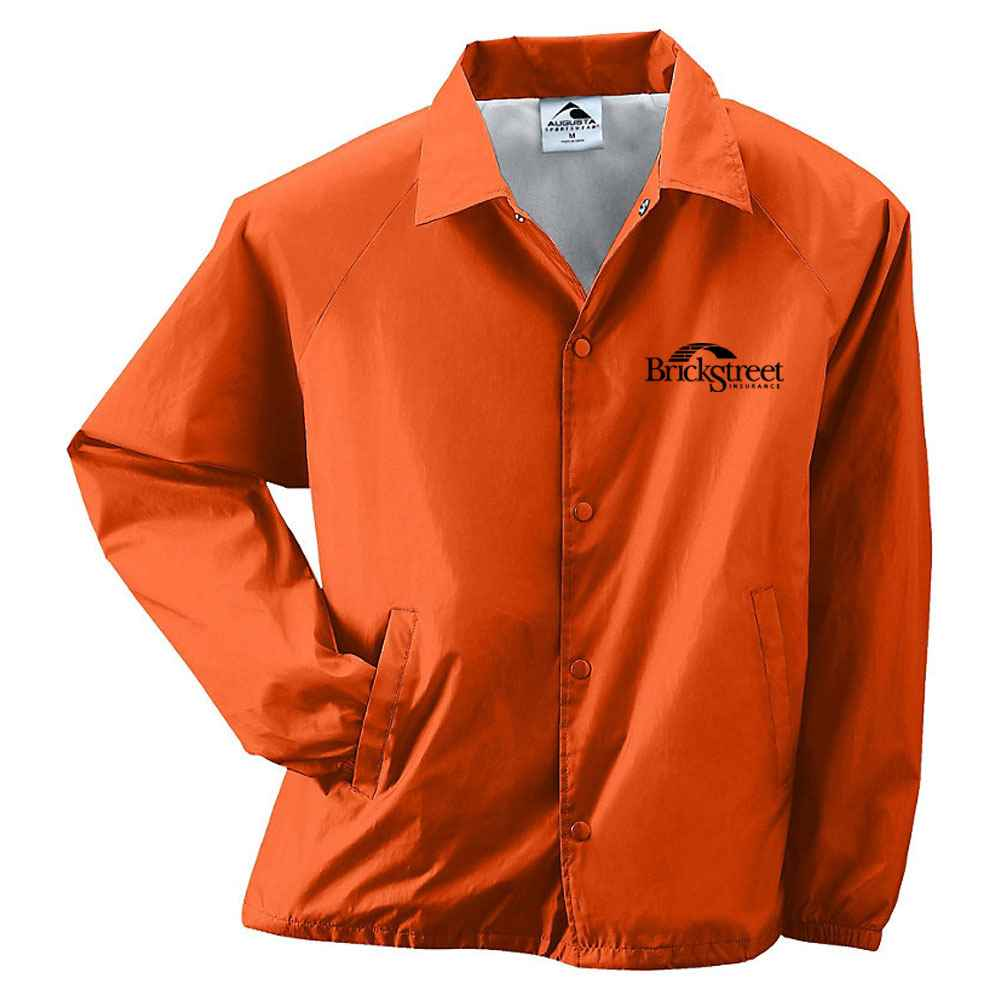 Augusta® Adult Nylon Coach's Jacket/Lined - Personalization Available