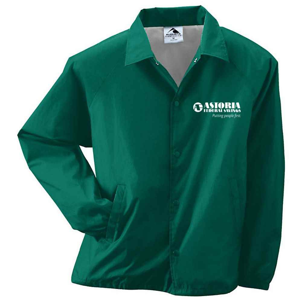 Augusta® Youth Nylon Coach's Jacket - Personalization Available