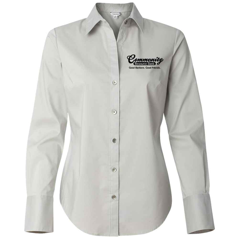 Calvin Klein® Women's Dress Shirt - Embroidered Personalization Available