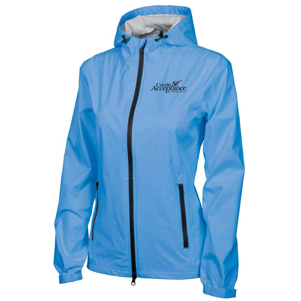 Charles River Apparel® Women's Watertown Rain Jacket - Personalization Available