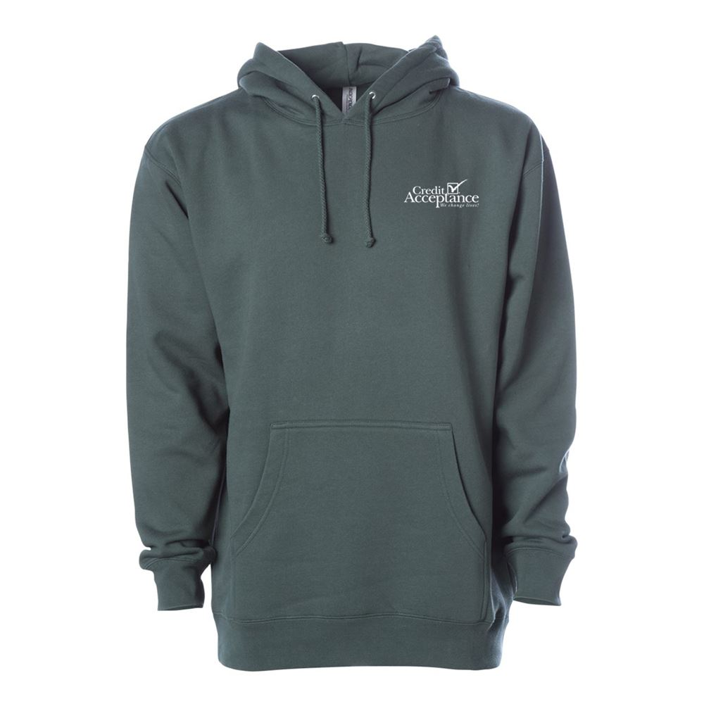 Independent Trading Co.® Heavyweight Hooded Pullover Sweatshirt - Embroidery Personalization Available