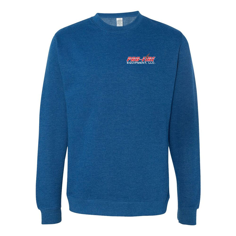 Independent Trading Co.® Midweight Crewneck Sweatshirt - Embroidery Personalization Available