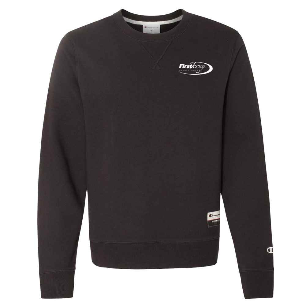 Champion® Originals Sueded Fleece Crew Sweatshirt - Embroidery Personalization Available