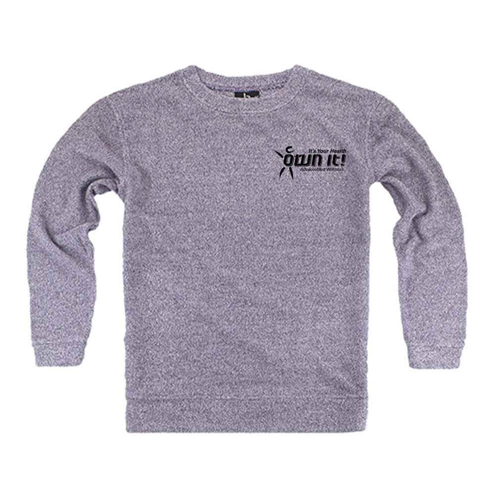 Boxercraft® Youth French Terry Cozy Crew - Personalization Available