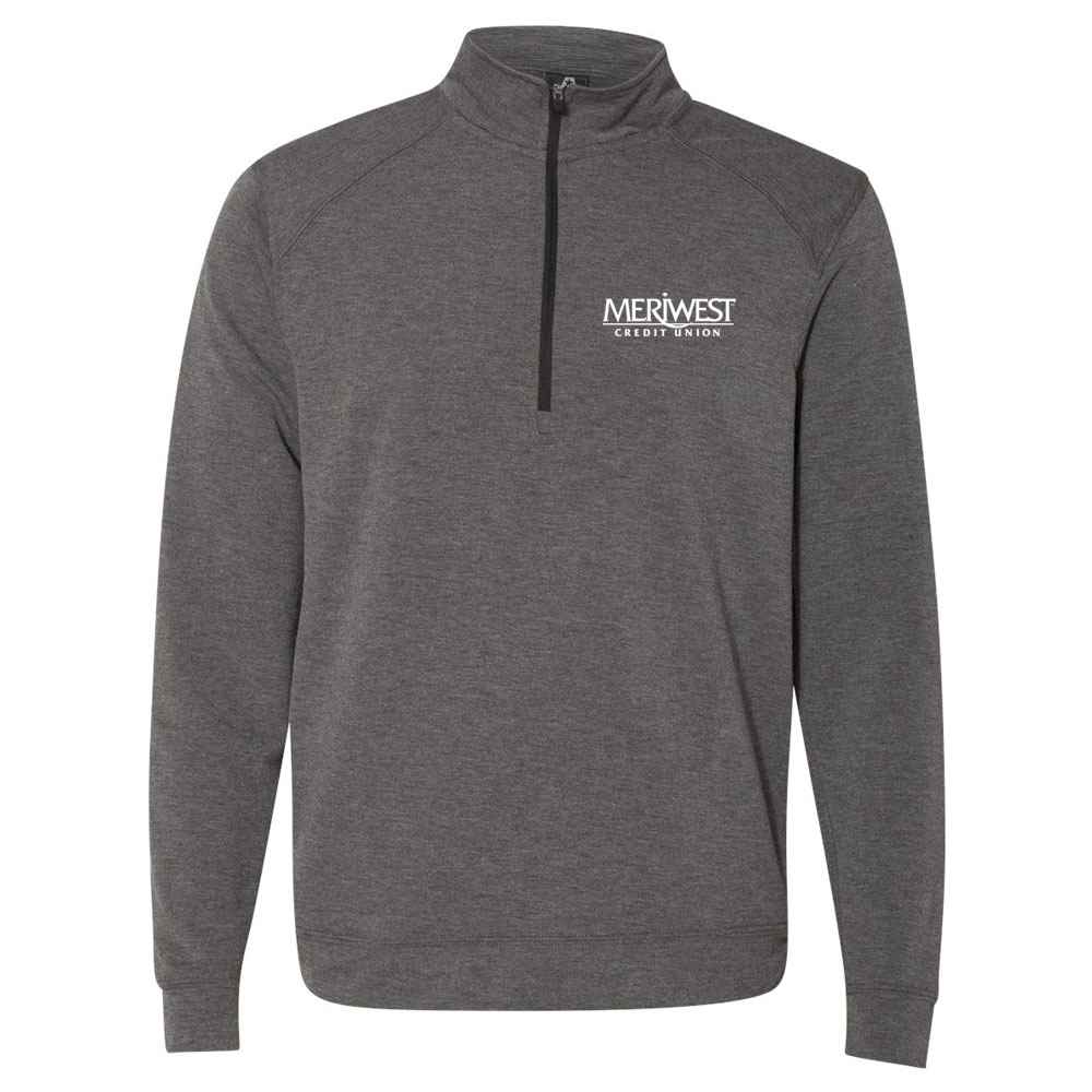 J. America® Men's Omega Stretch Terry Quarter-Zip Pullover Sweatshirt - Personalization Available