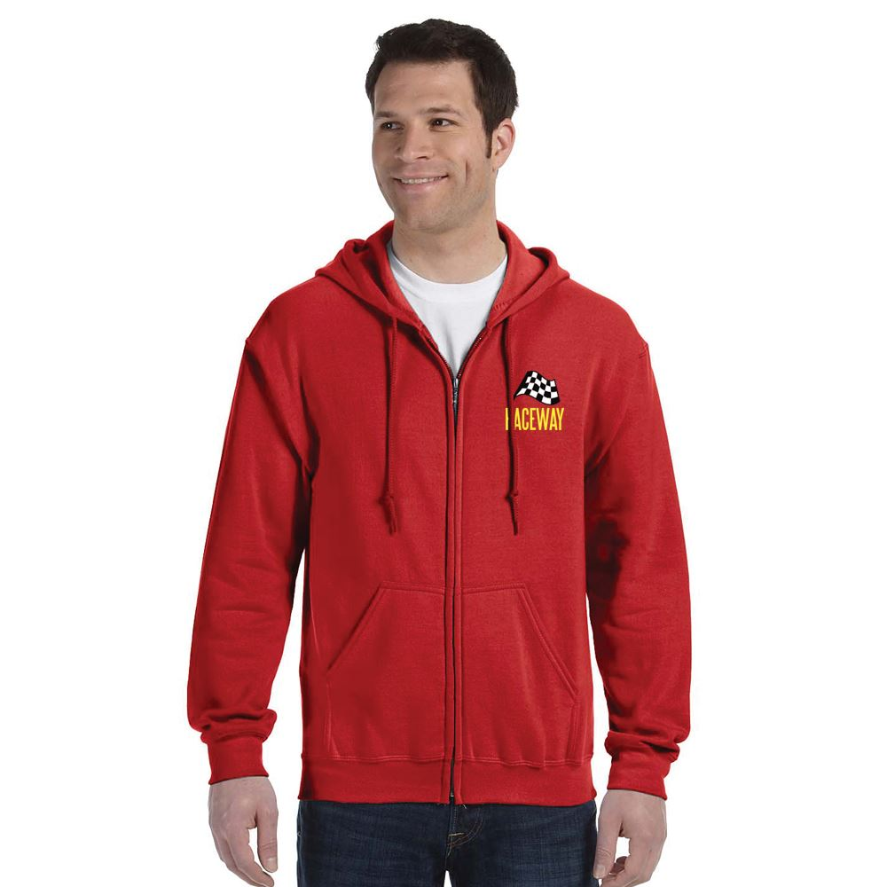 Gildan® Heavy Blend™ Full-Zip Hooded Sweatshirt: Premium Colors - Embroidery Personalization Available