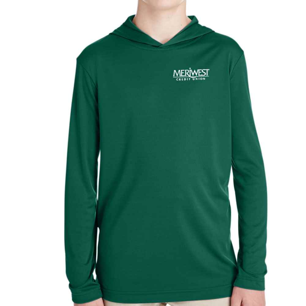 Team 365® Youth Zone Performance Hoodie - Embroidery Personalization Available