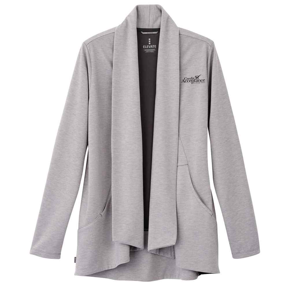 Elevate® Women's Equinox Knit Blazer - Embroidery Personalization Available